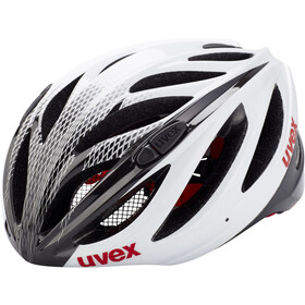 UVEX Boss Race Fietshelm, white-black